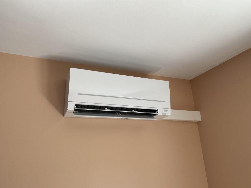 Aire acondicionado instalado por Instalfactor.