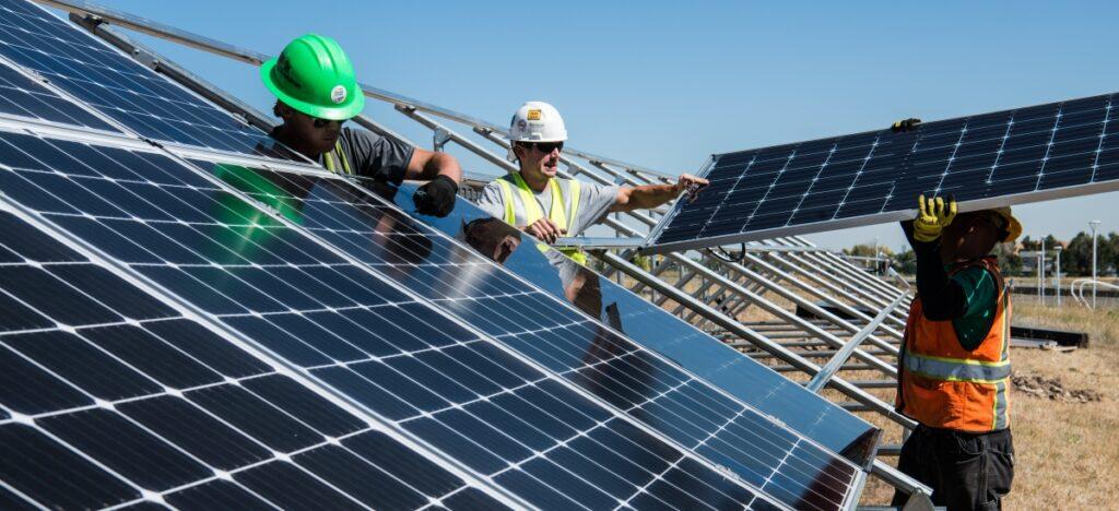 Placa solar fotovoltaica